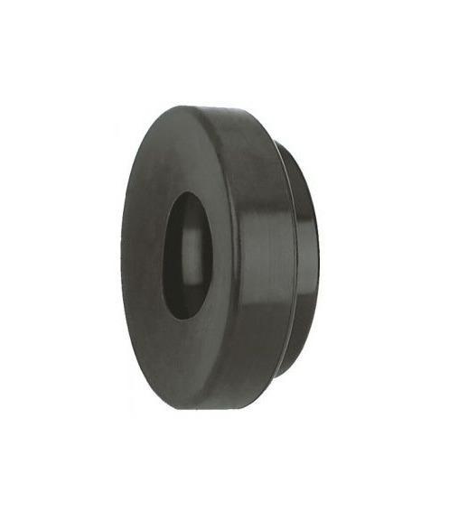 unten verj/üngt zum Einschlagen Endkappe leicht gew/ölbt f/ür Rohr /ø 33,7 x 2,0mm massiv mit Nase
